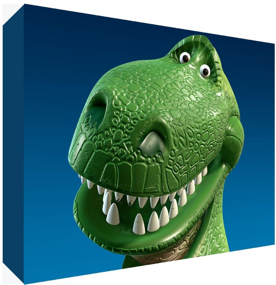 Dino Dinosaur Toy Story Canvas Art Choose Your Size